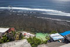 Views overlooking the famous surfing beach, Uluwatu. (wrightontheroad) Tags: uluwatu surfing tropicalwaters turquoisewaters waves kutaselatan bali indonesia