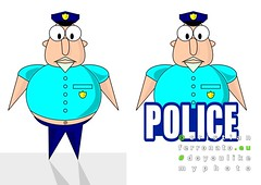 police (Cristian Ferronato) Tags: police poliziotto illustration illustrazione
