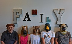 The Family (ricko) Tags: family portrait me masks grandkids daughterinlaw freaks kath 2016 196366