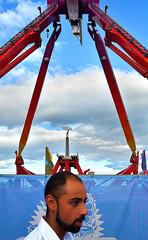 ...but here comes... (Owen J Fitzpatrick) Tags: dublin tamron ojf nikon fitzpatrick owen j joe chasing d3100 ireland editorial use only photography ojfitzpatrick pavement bray airshow 2016 air show ride people engineering pendulum fun amusement park yellow sky graviity gforce vertigo thrill scary thrillseeker county wicklow destination exciting swing republic feet purple overhead jetforce gravity pass passing head face beard logo funfair here comes