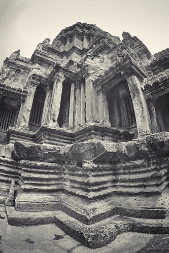 Angkor Wat with Zenitar fisheye 16 mm