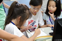 DSC_0763 (roger528852momo) Tags: 2016           little staff person explore summer camp hokuzine ever worker china youth corps ying qiao elementary school arduino robot food processing workshop taipei taiwan roger huang roger528852momo