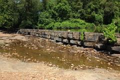 Natural Dam on Mountain Fork Creek - Crawford County, Arkanas (danjdavis) Tags: naturaldam mountainforkcreek crawfordcounty arkansas rockformation dam