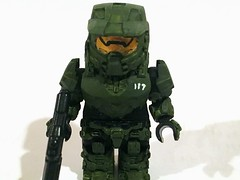 Master Chief V2 (ian4vdk) Tags: halo master chief lego custom minifigure brickaffliction brickarms brickzalive