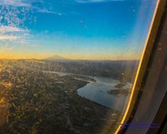 About to Overfly the Columbia River... (AvgeekJoe) Tags: iflyalaska aerialphotograph columbiariver d5300 dslr mounthood mthood nikon nikond5300 sunrise aerial aerialphoto aerialphotography fromthewindow throughglass throughthewindow