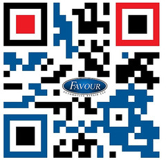 Favour Automotive Repair (punchysites) Tags: favour automotive repair mechanic car shop greensboro logo design north carolina qrcode