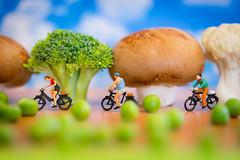 Healthy living (Pikebubbles) Tags: smallworld davidgilliver davidgilliverphotography itsasmallworld miniature miniatureweekly miniatureart thelittlepeople littlepeople figurine figurines toys toy toyart