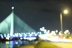 when everything is a blur - you've to change the focus (snekirepic) Tags: blur blurred light lights langzeitbeleuchtung langeverschlusszeit verschwommen fokus focus most mostnaadi belgrade beograd serbia srbija bridgeada adaciganlija bridge