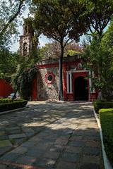 Paroquia San Sevastian 101 (L Urquiza) Tags: church historic building san angel mexico ciudad city cdmx