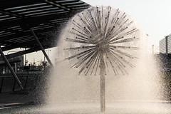 Ball nozzle (michael_hamburg69) Tags: kopenhagen copenhagen kbenhavn dnemark denmark springvand fountain springbrunnen terminal3 cph airport ballnozzle