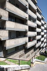 (ilConte) Tags: budapest hungary architettura architecture architektur geometry geometria geometrie ungheria balconi balconies