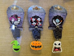Disneyland Visit 2016-10-09 - Downtown Disney - This Is Halloween LE Pins (drj1828) Tags: us downtowndisney visit 2016 pin nightmarebeforechristmas