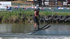 20160903_132147_DSC_5851 (seiichi_sugano) Tags: waterski waterskiing watersports water championship collegiate jccw jump trial ob oogata akita japan   og