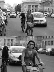 [La Mia Citt][Pedala] (Urca) Tags: milano italia 2016 bicicletta pedalare ciclista ritrattostradale portrait dittico nikondigitale mir bike bicycle biancoenero blackandwhite bn bw 895104