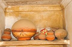 Big pot, small pots (bag_lady) Tags: india terracotta pots pottery rajasthan waterpots shekhawati dundlod