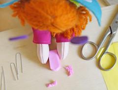 Dobre ao meio e arredonde as pontas. (Ateliê Bonifrati) Tags: cute diy artesanato craft tutorial pap passoapasso bonifrati