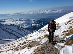"""On slopes above Campo Imperatore, with Valle Fredda below • <a style=""""font-size:0.8em;"""" href=""""http://www.flickr.com/photos/41849531@N04/17184694389/"""" target=""""_blank"""">View on Flickr</a>"""
