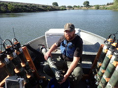 Assisting with San Joaquin River Predation Study