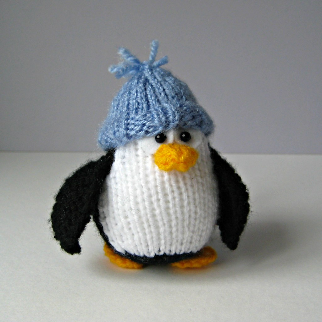 The worlds most recently posted photos of knits and penguins bobble and bubble penguins knitting patterns by amanda berry tags christmas xmas white bankloansurffo Images