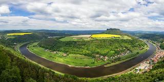 Blick von der Festung Königstein...