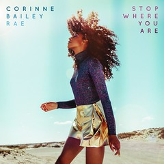Corinne Bailey Rae - Stop Where You Are (Stan Brooks Designs) Tags: blue summer corinne hair design graphicdesign artwork graphic you designer where stop curly cover single bailey rae vibes summery singlecover singleartwork corinnebaileyrae putyourrecordson stopwhereyouare