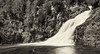 Caribou Falls - Little Marais MN (dtredinnick13) Tags: blackandwhite bw water minnesota waterfall nikon rocks northshore nik mn lakesuperior superiorhikingtrail sht d800 caribouriver cariboufalls littlemarais niksilverefexpro nikon1635