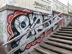 Tampere graffiti (Thomas_Chrome) Tags: street streetart art suomi finland graffiti europe can spray chrome illegal nordic walls tampere