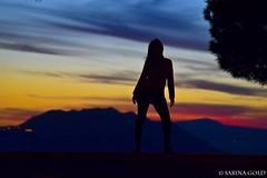 GIRL (597) (Mei Fabrizio) Tags: donna tramonto sabina sole soratte