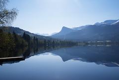 Svrt stille -|- Quite serene (erlingsi) Tags: lake reflection norway europe reflet serene scandinavia volda stille speiling rotevatn