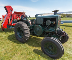 Le Robuste 40 Tractor towing a Clayton and Shuttleworth threshing machine (Paul Braham Photography) Tags: tractor bus car bike bicycle sportscar omnibus farmmachinery