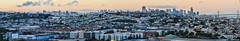 le conte avenue rooftops (pbo31) Tags: sanfrancisco california city bridge sunset urban panorama orange color skyline evening spring nikon view rooftops over may large panoramic baybridge bayarea vista bayview stitched 2016 bayviewpark boury pbo31 d810