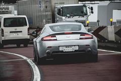 Aston Martin V8 Vantage (Justin Young Photography) Tags: cars japan tokyo astonmartin v8vantage