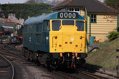 5580 Swanage (daveymills31294) Tags: diesel railway class 311 31 gala swanage 2016 5580 31162