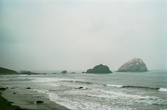 45470012 (danimyths) Tags: ocean california film beach water coast waterfront pacific roadtrip pch pacificocean westcoast californiacoast filmphotography pacificcostalhighway