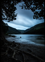 Glendalough as night falls (elaine butler) Tags: ireland night dark explore glendalough butler elaine info wicklow