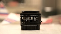 The Trusty Steed (mister_hashtag) Tags: nikon nikkor 50mm f18 lens glass black