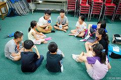DSC_0374 (roger528852momo) Tags: 2016           little staff person explore summer camp hokuzine ever worker china youth corps ying qiao elementary school arduino robot food processing workshop taipei taiwan roger huang roger528852momo