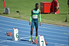DSC_4860 (lenpereira) Tags: rio2016 olimpiadas2016 2016olympics atlestismo athletics timebrasil jorgevides nikond3200 olimpadas olympics atletas athletes 200m 200mrasos