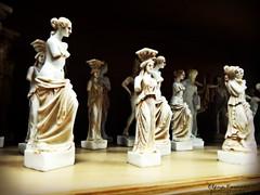 μικρές θεότητες (braziliana13) Tags: χανιά κρήτη sculpture little gods greek greece greekhistory handmade αγαλματα μικρά