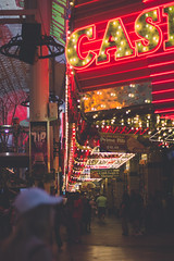 Las Vegas (jimbob195) Tags: las vegas nevada light lights canon 600d 24to105mm 24105mm neon 2016 holiday bokeh sign signs lit up red yellow bulb bulbs lightbulbs shops casino casinos freemot freemontst experience freemontstreetexperience oldtown original nowandthen strip motel kitch sidewalk street oldvegas antiques corridor cinematic filmic electric parking arrow lr4 lightroom4 bright brightlights whathappensinvegasstaysinvegas money cash