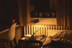 08.09.2016 (nnnnikt) Tags: room warmth climate warmclimate light lights night evening laptop bed plants
