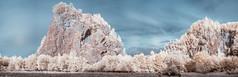 Steinbruch Helmke (Thdenz) Tags: letmathe steinbruch landscape infrarot ir landschaft infrared