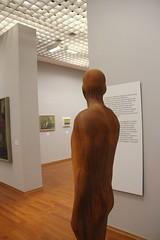 Antony Gormley's Here and There, 2002 (Titian Tiger) Tags: torino italy it turin antonygormley galleriadartemoderna modernart rust shroud statue