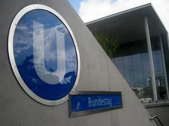 U-Bahn Bundestag (christophrohde) Tags: ubahn berlin bundestag