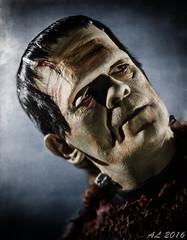 """Son of Frankenstein"" (1939) (Angus Lamont) Tags: boris karloff frankenstein son universal horror monster classic colorized colourised"