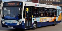 27242 SN65 OCC SERVICE 38 NORTON GLEBE (NorthEastLancs) Tags: 27242 sn65 occ stagecoach north east stockton depot connecting the dots 52585961 branded adl enviro e300