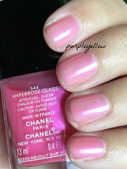 Chanel Hyperrose Glass (purple yellow) Tags: chanel hyperrose glass nail polish