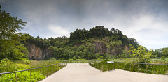 Singapore Quarry Panorama (ystan) Tags: singapore quarry upper bukit timah weather travel