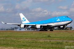 KLM --- Boeing 747-400 --- PH-BFS (Drinu C) Tags: adrianciliaphotography sony dsc hx100v ams eham plane aircraft aviation 747 klm boeing 747400 phbfs