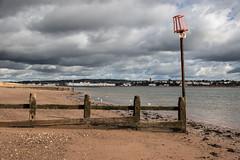 Dawlish Warren, looking towards Exmouth (RichardTowers43) Tags: beach dawlishwarren sea groyne exmouth